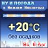 Ну и погода в Нижнем Новгороде - Поминутный прогноз погоды